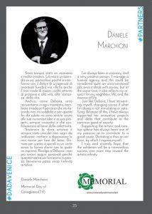 Mostra dadavenice, Onoranze funebri Memorial, Daniele Marchioni
